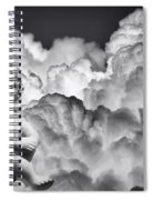 Angel In The Clouds Spiral Notebook