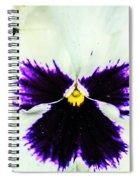 Angel In The Flower Spiral Notebook