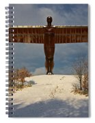 Angel In The Snow II Spiral Notebook