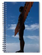 Angel In The Snow Vi Spiral Notebook