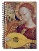 Angel Musician Spiral Notebook
