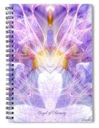 Angel Of Beauty Spiral Notebook