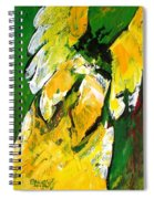 Angel Of Delight Spiral Notebook