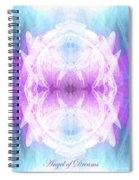 Angel Of Dreams Spiral Notebook