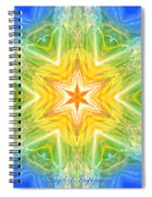 Angel Of Inspiration Spiral Notebook