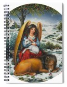 Angel Of Peace Spiral Notebook