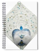 Angel Of Purity And Power Spiral Notebook