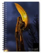 Angel Of The Morning Spiral Notebook
