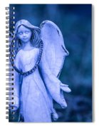 Angel Of The Rain Spiral Notebook