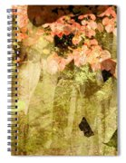 Angel Of The Woods Spiral Notebook