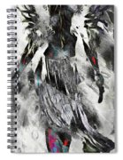 Angel Of Winter Spiral Notebook