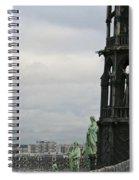 Angel Over Paris Spiral Notebook