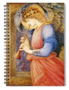 Angel Playing A Flageolet Spiral Notebook
