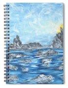 Angel Rock Spiral Notebook