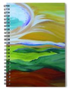 Angel Sky Green By Jrr Spiral Notebook