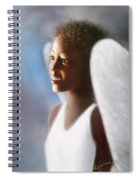 Angel Smile Spiral Notebook