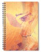 Angel Time  Spiral Notebook