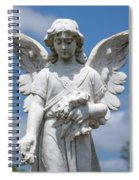 Angel Tombstone Series Spiral Notebook