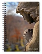 Angel Watching Over Spiral Notebook