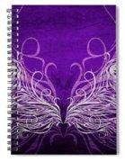 Angel Wings Royal Spiral Notebook