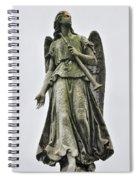 Angel With Trumpet Spiral Notebook