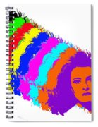 Angela Rainbow-2 Spiral Notebook