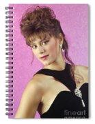 Angelablackformal Spiral Notebook