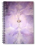 Angelic Cropped Version Spiral Notebook