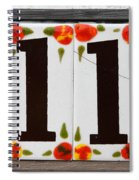 Angelic Numbers By Diana Sainz Spiral Notebook