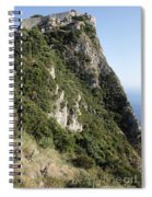 Angelo Castle Corfu Greece Spiral Notebook