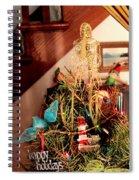 Angels Bird And Elves Oh My Spiral Notebook