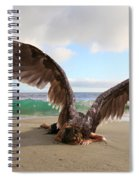 Angels- For The Lord Himself Will Descend From Heaven With A Shout Spiral Notebook