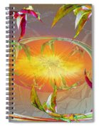 Angels Gather To The Love Of The Lord Spiral Notebook