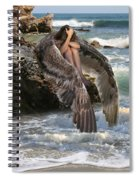 Angels- God Has Sent His Spirit To Comfort You And Heal You Spiral Notebook
