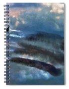 Angels Inna Clouds Spiral Notebook