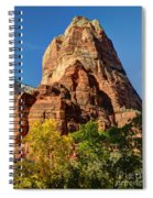 Angel's Landing In Fall - Zion National Park  Spiral Notebook