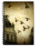 Angel's Melody Spiral Notebook