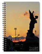 Angels Never Sleep Spiral Notebook