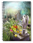 Angels Of Stone Spiral Notebook