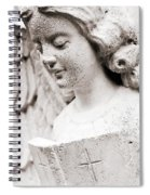 Angels Prayers And Miracles Spiral Notebook