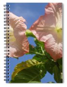 Angel's Trumpet Spiral Notebook
