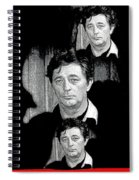 Angie Dickinson Robert Mitchum Collage Young Billy Young Set Old Tucson Arizona 1968-2013 Spiral Notebook