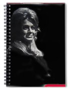 Angie Dickinson Smiling Young Billy Young Set Old Tucson Arizona 1968-2013 Spiral Notebook