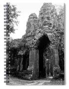 Angkor Thom East Gate 01 Spiral Notebook