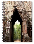 Angkor Thom East Gate 02 Spiral Notebook