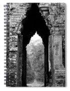 Angkor Thom East Gate 03 Spiral Notebook