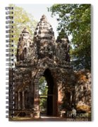 Angkor Thom North Gate 01 Spiral Notebook