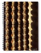 Angkor Wat Colonnettes 03 Spiral Notebook