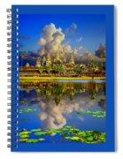 Angkor Wat Just Before Sunset Spiral Notebook