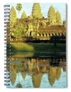 Angkor Wat Reflections 02 Spiral Notebook
